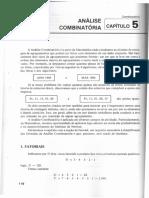 Análise Combinatória - Cap 5