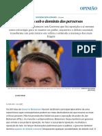 Cem Dias Sob o Domínio Dos Perversos Opinião EL PAÍS Brasil