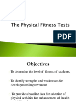 Physical Fitness Tests Presentation 2 Converted