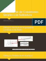 Verificación de Conexiones Simples Con Soldadura