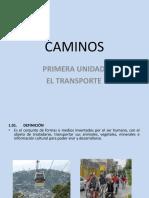 Presentacion Cap.I EL TRANSPORTEs
