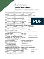 Diagnostic Test in Ict10_2019