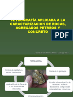 Presentacion Petrografia Final