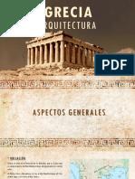 Exposición de arquitectura de Grecia