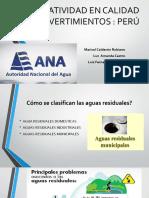 Exposicion Normatividad en Calidad de Vertimientos Peru