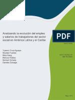 Analizando La Evolución Del Empleo y Salarios de Trabajadores Del Sector Social en América Latina y El Caribe Es Es