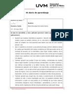 Act 1 Diario de Aprendizaje Mercedes Dv