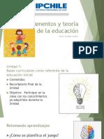 Fundamentos y Teoría de La Educación.10 Pptx