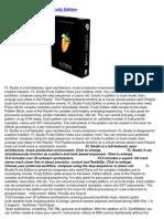 Image-Line FL Studio 9 Fruity Edition