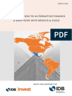 2018 Business Access to Alternative Finance ... Into Mexico and Chile