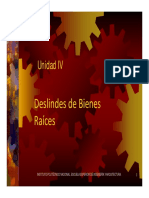 U.4 Deslindes