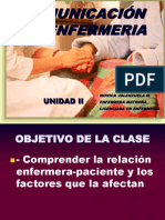 comunicacion en la enfermeria