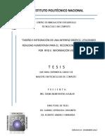 Diseño e integración de una interfaz gráfica utilizando realidad aumentada para el reconocimiento de objetos por RFID e información visual