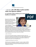 Entrevista Faro de Vigo Por La Gala de Por Dereito 2010