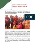 Programas Sociales y Pobreza Peru