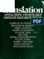 Translation Applications and Research