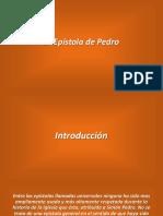 Presentación Epístola 1° Pedro