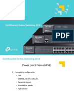 Certificacion Online Switching PoE QoS