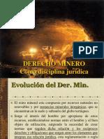 DERECHO MINERO Como Disciplina Jurídica