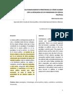 La Ciencia Politica Posmovimiento Perestroika Aldo Huaman Arias