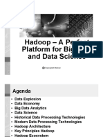 Hadoop a Perfect Platform for Big Data and Data Science Bw