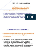 Conceptos de Economiadelaproduccion