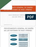2. Procedimiento Diseño Sistema de Aseo (General y Particular)