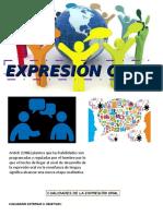 Expresion Oral 123