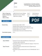 Resume 1-4-2018 Manual