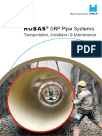 Grp Pipe installation problems