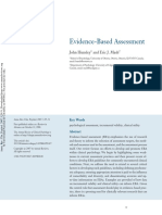 Hunsley, J. & Mash, E.J. (2007). Evidence-Based Assessment