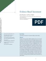 Hunsley, J. & Mash, E.J. (2007). Evidence-Based Assessment
