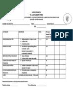 Ejemplo de Plan Seman de Trabajo 2013-2014