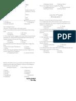 FOURTH  QUARTER EXAM arts and Pe.docx