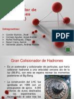 El Colisionador de Hadrones