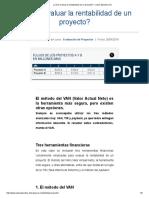 ¿Cómo evaluar la rentabilidad de un proyecto_ - Clase Ejecutiva UC.pdf