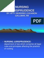 A- Nursing Jurisprudence