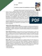 Articulo Evaluación Formativa