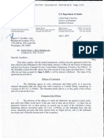Boris Rubizhevsky 11-Page Letter of June 15th 2015 containing proposed plea deal