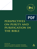 (Library of Hebrew Bible_Old Testament studies 474) Baruch J. Schwartz, Naphtali S. Meshel, Jeffrey Stackert, David P. Wright - Perspectives on Purity and Purification in the Bible-T&T Clark Int'