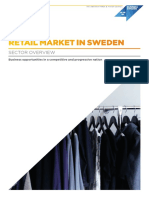 Retail Market in Sweden Sector Overview 2016