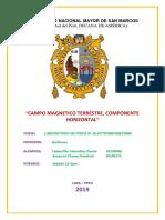 Informe Fisica III Electromagnetismo