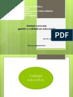 Calidad en Educacion Presentaciòn