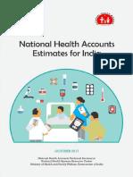 National Health Accounts