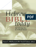 McKenzie & Graham (Eds.) - The Hebrew Bible Today; An Introduction to Critical Issues (1998)