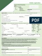 Vehicle Registration Form