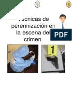 Técnicas de Perennización en La Escena Del Crimen