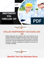 189 Visa Australia | 189 Visa Requirements | Immigration Agent in Perth