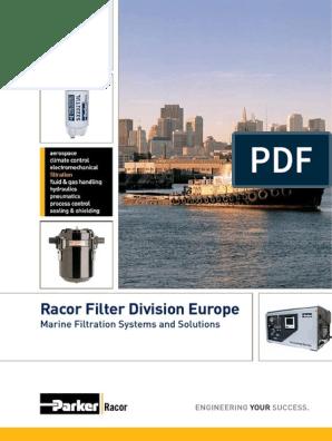 Racor//Parker S3220SUL Aquabloc Gas Filter Element