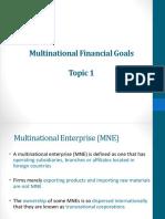 International Finance Chapter1